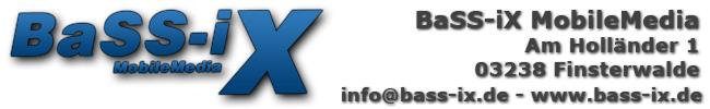 BaSS-iX MobileMedia - Referenzen -