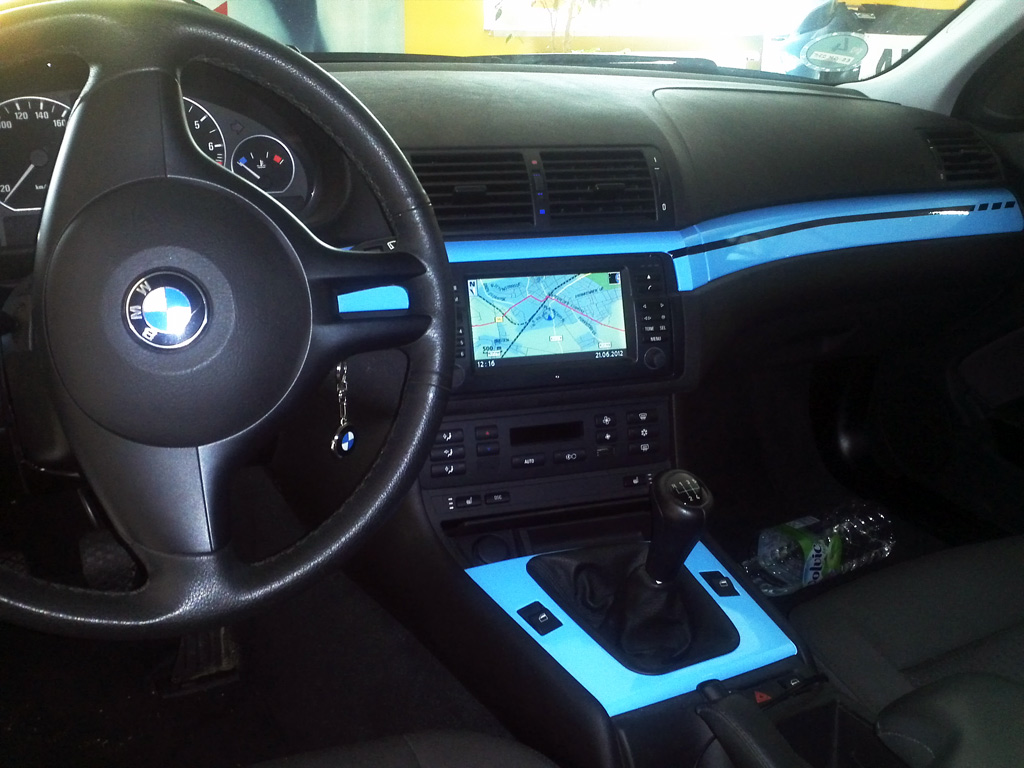 bass ix mobilemedia referenzen bmw e46 etwas bass. Black Bedroom Furniture Sets. Home Design Ideas